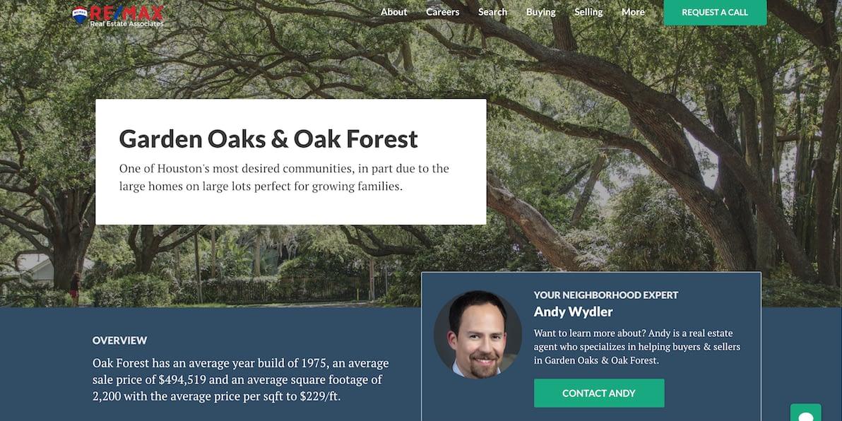 Garden Oaks Oak Forest WeSellHoustonHomes com