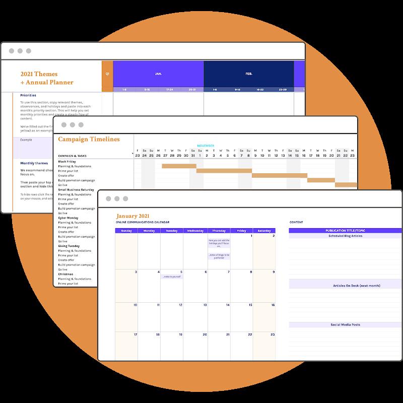 2021 Marketing Calendar